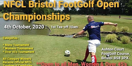 NFCL Bristol Footgolf Open Championships 2020 tickets