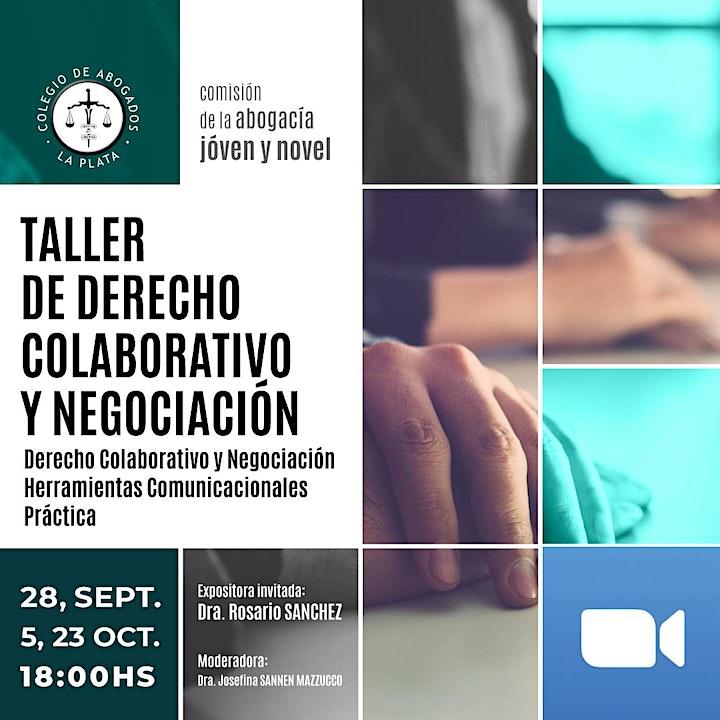 Imagen de Taller de Derecho Colaborativo y Negociación