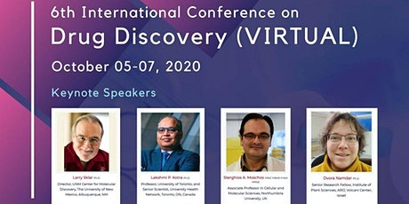 6th International Conference on Drug Discovery (VIRTUAL) tickets