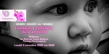 I Bambini e l' Alfabeto delle Emozioni - Incontri Dedicati all'Infanzia - biglietti