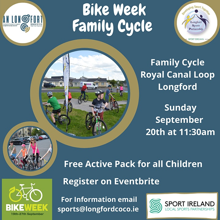 Royal Canal Family Cycle image