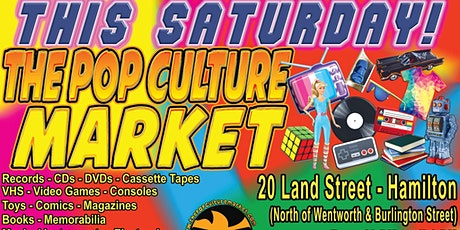 The Return of The Pop Culture Market! tickets