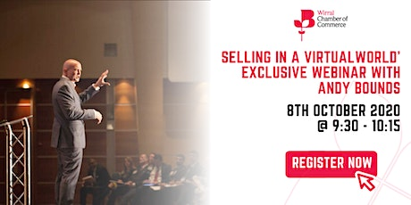 'Selling in a Virtual World' – exclusive webinar with Andy Bounds tickets
