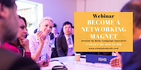 Become a Networking Magnet by Simply Body Talk tickets