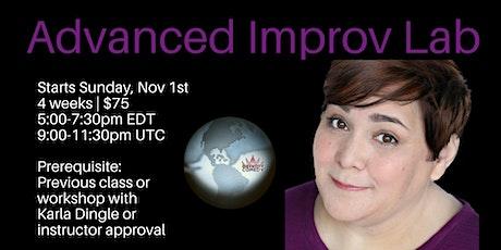 Advanced Improv Lab tickets