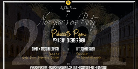 New Year's Eve Party 2021 - Palazzetto Pisani biglietti