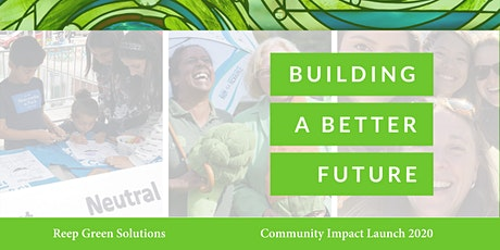 Building a Better Future | Climate Impact Launch tickets