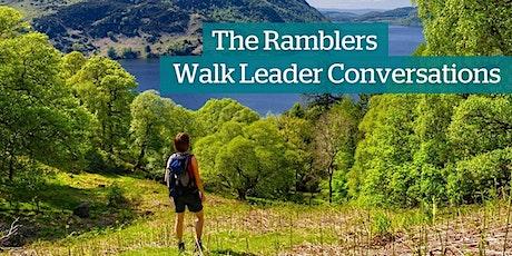 Ramblers Scotland Walk Leader Conversations tickets