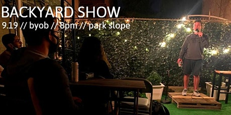 Back Yard Comedy - Park Slope tickets