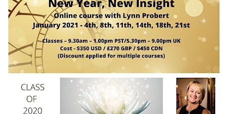 New Year, New Insight, ONLINE Mediumship Training with Lynn Probert tickets