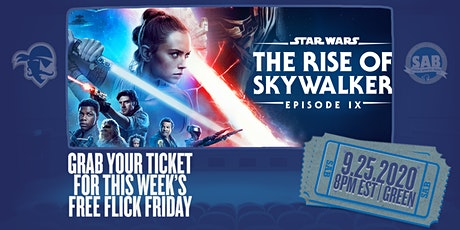 SAB's Free Flick Friday: Star Wars - The Rise of the Skywalker tickets