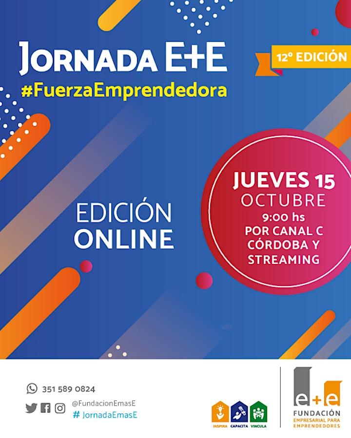 Imagen de 12ª JORNADA E+E #FuerzaEmprendedora
