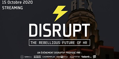 DISRUPT RH * STREAMING * PARIS 2020 entradas