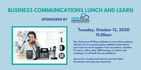 Business Communications Lunch and Learn tickets