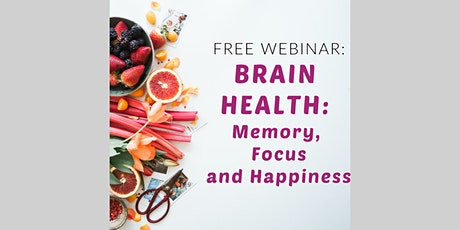 Live Webinar: A Natural Approach to Memory & Focus tickets