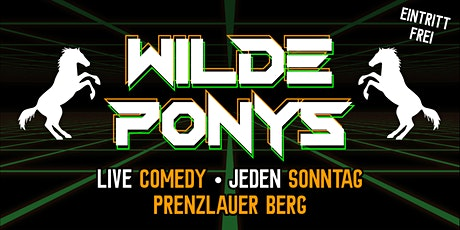 Stand-up Comedy • P-Berg • 20.00 Uhr • mit Hygiene | WILDE PONYS Tickets