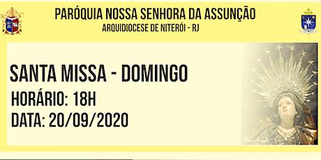 PNSASSUNÇÃO CABO FRIO - SANTA MISSA - DOMINGO - 18 HORAS - 20/09/2020 ingressos