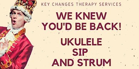 Virtual Ukulele Sip and Strum tickets