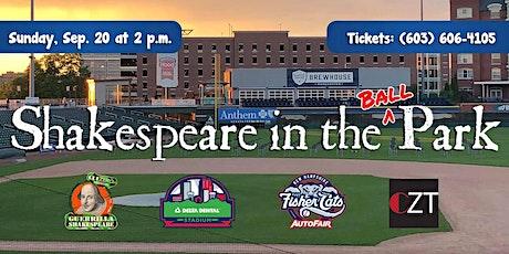 Shakespeare in the Ballpark tickets