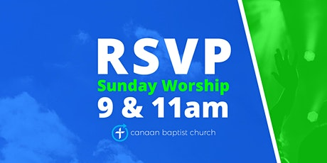 October 4, Worship Services tickets