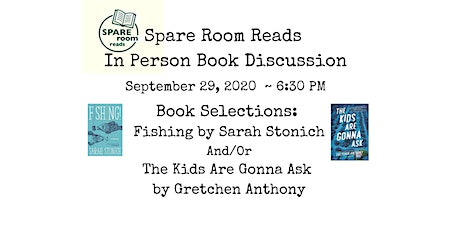 Spare Room Reads September Book Discussion tickets