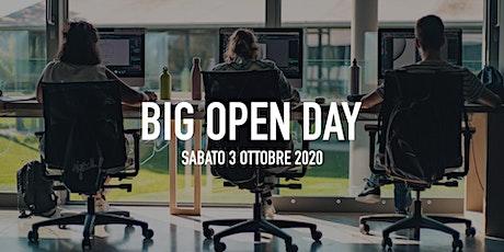 Big Open Day Ottobre 2020 biglietti