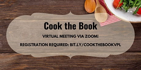 Cook the Book on Zoom tickets