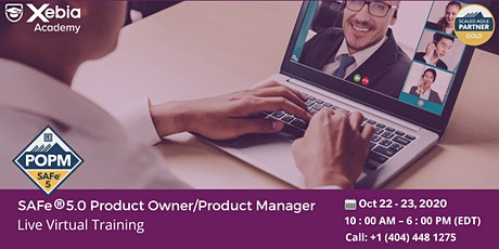 SAFe Product Owner/Product Manager Certification & Training tickets