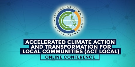 Accelerated Climate Action & Transformation for Local Communities ACT Local tickets
