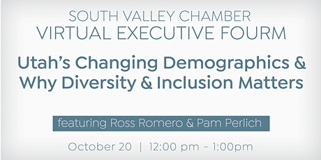 Utah's Changing Demographics & Why Diversity & Inclusion Matters tickets