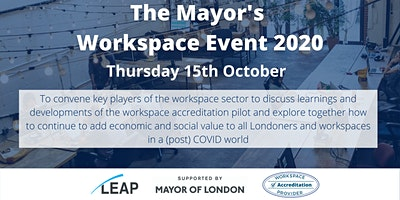 The Mayor's Workspace Event 2020
