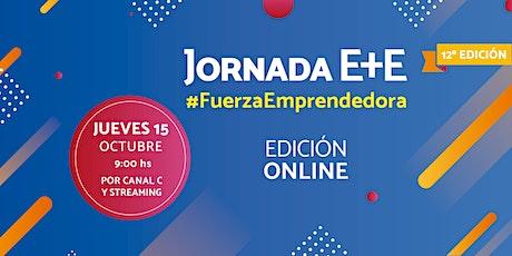 12ª JORNADA E+E #FuerzaEmprendedora entradas