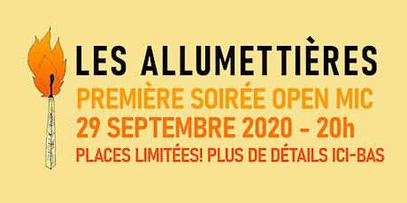 Les Allumettières - soirée d'humour 100% fxmmes billets