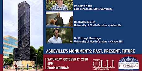 Asheville's Monuments: Past, Present, & Future tickets