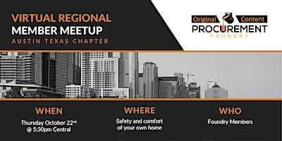 Virtual Member Meetup Texas Chapter