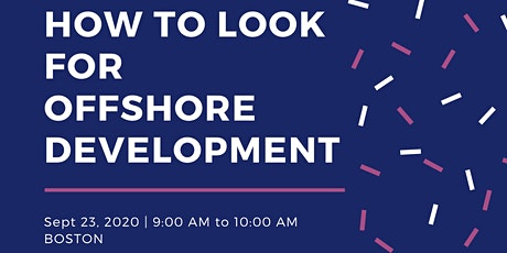 Outsource your software development offshore tickets