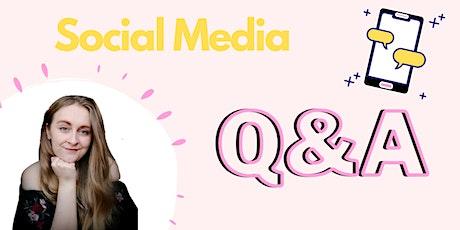 Social Media Q&A tickets
