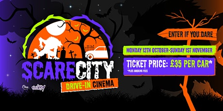 ScareCity Drive-In Cinema tickets
