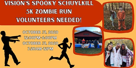 Spooky Schuylkill Call for Volunteers tickets