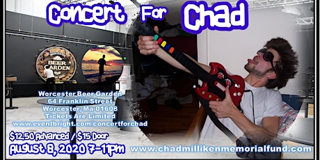 The Chad Milliken Memorial Fund Kickoff Event: Concert for Chad tickets