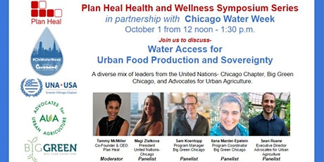 Plan Heal Health and Wellness Symposium Series  & Chicago Water Week tickets