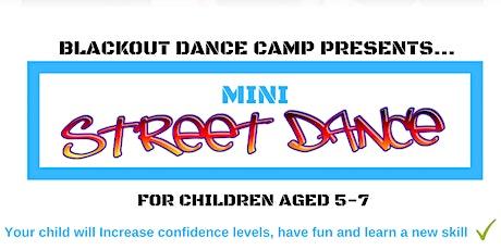 Blackout Dance Camp - Mini Street Dance Class tickets