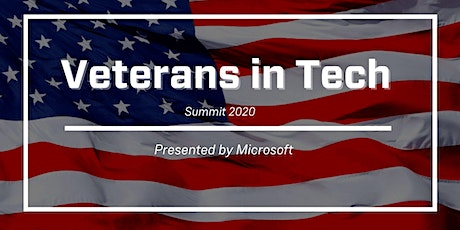 Veterans in Tech Summit Presented by Microsoft tickets