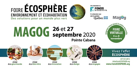 Foire ÉCOSPHÈRE - Magog tickets