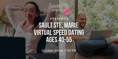 Sault Ste. Marie Virtual Speed Dating Ages 40-55 tickets