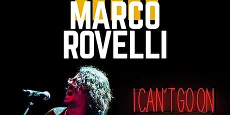 """Marco Rovelli in concerto - presentazione nuovo album """"Portami al confine"""" biglietti"""