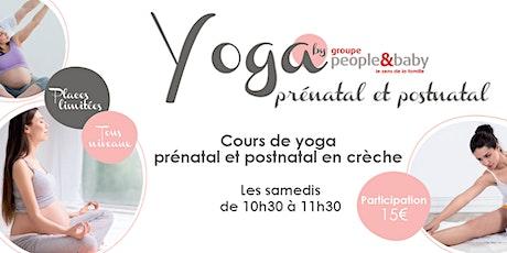 Yoga prénatal en crèche - Paris 7 billets