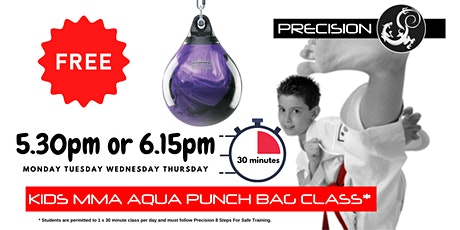 FREE Kids MMA Aqua bag Taster Session (5-10yrs) tickets