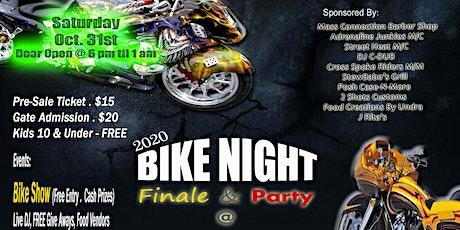 2020 Bike Night Finale Tyler tickets