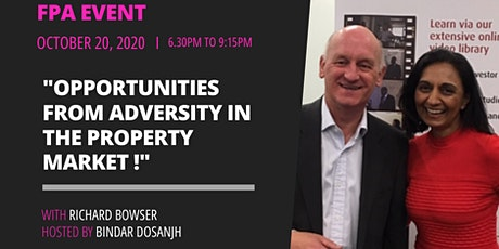 Opportunities from Adversity in the property market! tickets
